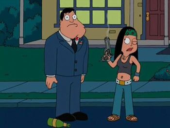 American Dad - 1x14 - Stannie Get Your Gun