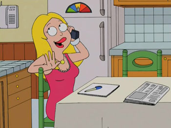 American Dad - 1x16 - Not Particularly Desperate Housewife