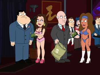 American Dad - 5x08 - G-String Circus