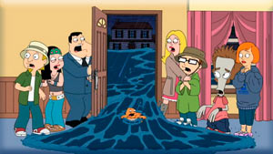 American Dad 7x02 Hurricane!
