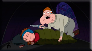 American Dad 7x11 Old Stan in the Mountain